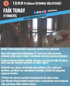 Faik Tunay 19 Mayıs